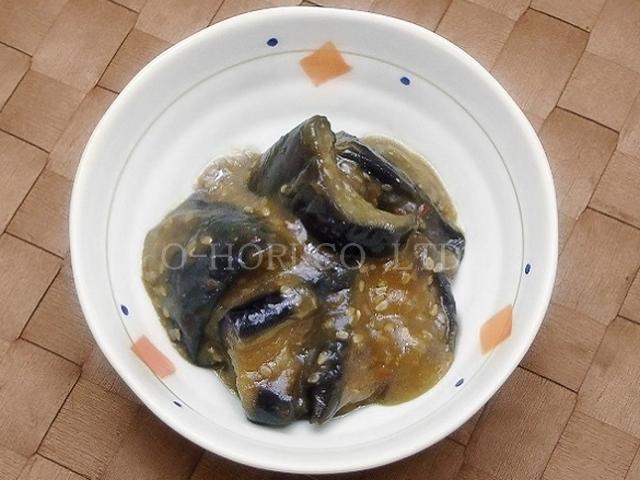 揚げ茄子の味噌炒め・皿