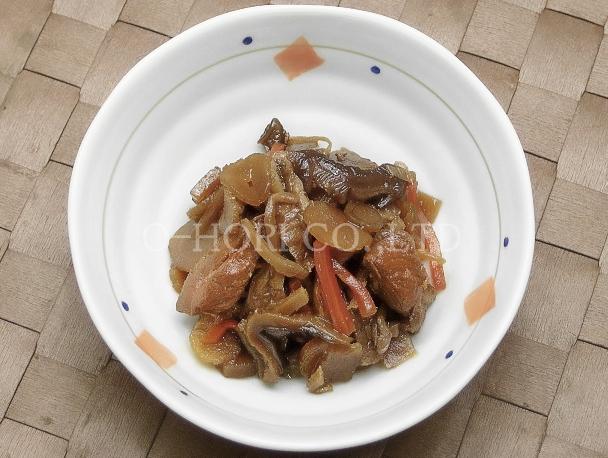 混ぜ込み用 鶏五目ごはんの素・皿