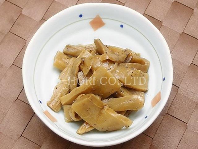 黒胡椒メンマ・皿