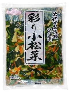 彩り小松菜