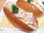 oh ! dish コールスローサラダ・調理例ポテチパン