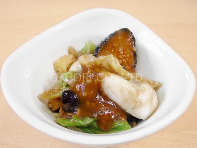 揚げ茄子の味噌炒め・高瀬物産用調理例