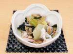oh ! ばんざい あさりとキャベツの生姜和え・小鉢